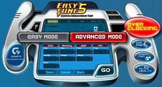 EasyTune5 от Gigabyte