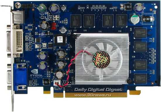 ATI Radeon X1300 Pro против NVIDIA GeForce 6600 DDR2